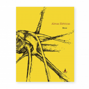 Capa amarela do livro Almas Elétricas, de Marcelo Beso
