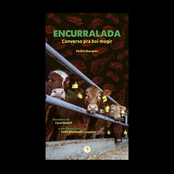 Capa do livro Encurralada, de Pedro Marques