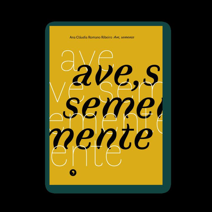 Capa do livro Ave, Semente