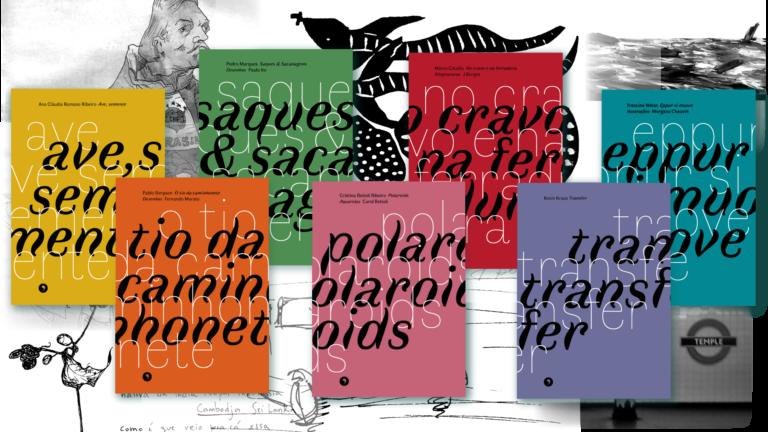 Capas dos livros da coleção Caravelas