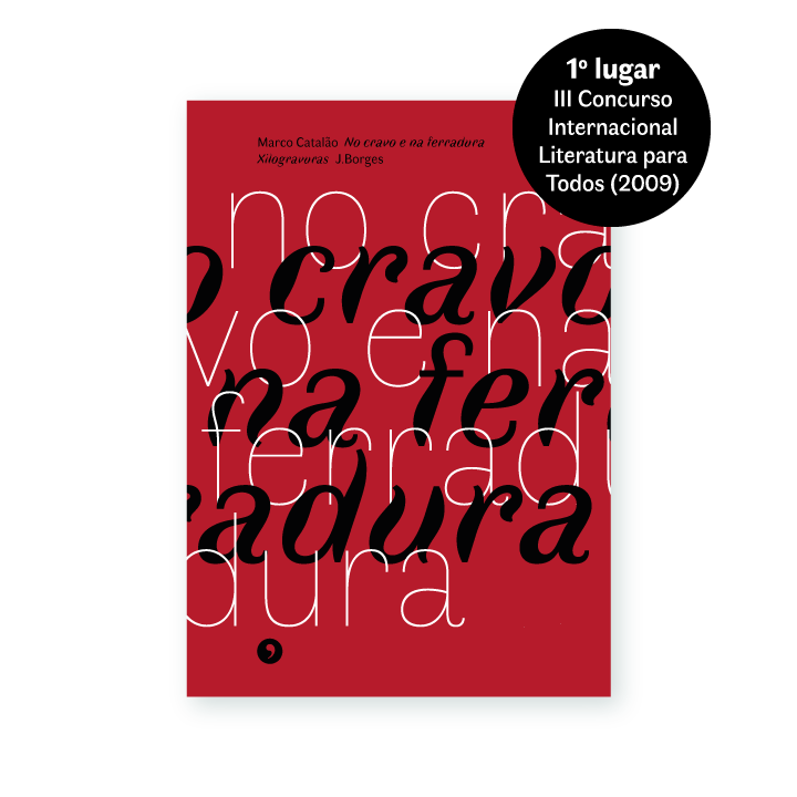 Capa do livro No cravo e na ferradura, de Marco Catalão