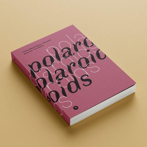 Mockup da capa do livro Polaroids