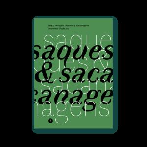 Capa do livro Saques & Sacanagens, de Pedro Marques