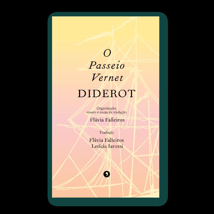 Capa do livro O Passeio Vernet, de Denis Diderot
